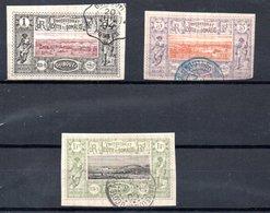 Cote De Somalis 1894-1900 3 Timbres Oblitérés TB - Oblitérés