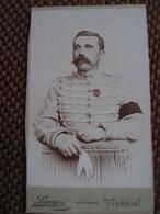 CDV Militaire Cavalerie MARECHAL FERRANT ( Voir Insigne) - Medaille - Brassard Noir - Photo Laveuve, Verdun - Guerre, Militaire