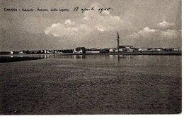 VENEZIA - ESTUARIO - BURANO; Dalla Laguna, 18.4.1910, Ed. Brunner Como Zurigo, Stab. Eliografico - Venezia (Venice)