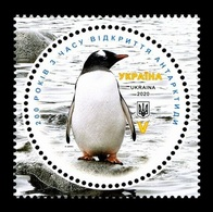 Ukraine 2020 Mih. 1857 Discovery Of Antarctica. Fauna. Penguins MNH ** - Ucraina