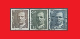 Espagne Spain 1981, Juan Carlos High Value Stamps - 1931-Aujourd'hui: II. République - ....Juan Carlos I