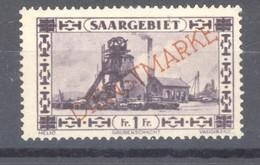 Sarre  -  Services  :  Yv  25  * - Dienstzegels