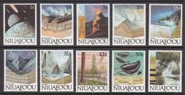 1989 Tonga Niuafo'ou Earth Evolution Geology Definitives ORIGINAL Set Of 10 MNH - Tonga (1970-...)