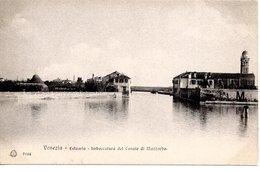 VENEZIA - ESTUARIO -  Imboccatura Del Canale Di Mazzorbo,   Ed. Brunner Como Zurigo, Stab. Eliografico, Um 1900 - Venezia (Venice)