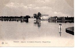 VENEZIA - ESTUARIO -  In Canale Di Mazzorbo - Maggioborgo,   Ed. Brunner Como Zurigo, Stab. Eliografico, Um 1900 - Venezia (Venice)