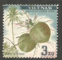 VIETNAM. 3xu BUU CHINN FRUIT USED - Vietnam