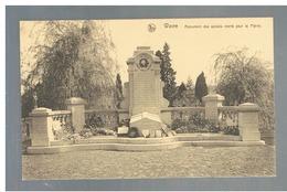 JM29.01 / CPA / WAVRE - MONUMENT DES SOLDATS MORTS POUR LA PATRIE - Wavre