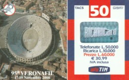 RICARICA TIM VR-M OTT02 VERONAFIL (6671 (RH52 - [2] Sim Cards, Prepaid & Refills