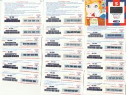 LOTTO 20 RICARICHE TIM DIFFERENTI RET4P (RH127 - GSM-Kaarten, Aanvulling & Voorafbetaald