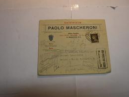 MILANO ---  VIALE BRIANZA   - PAOLO MASCHERONI  --CASEIFICIO - Italia
