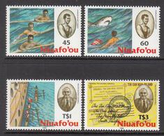 1991 Tonga Niuafo'ou  Mailmen Tin Can Mail  Complete Set Of 4 MNH - Tonga (1970-...)