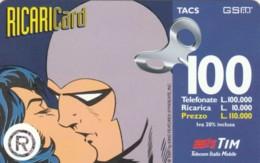 RICARICA TIM 3 GRATTA LA STRISCI ARGENTATA DIC99 (0200 (RH574 - [2] Sim Cards, Prepaid & Refills