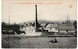 Saône Et Loire SAINT SYMPHORIEN DE MARMAGNE Le Moulin De Crussy - Autres Communes