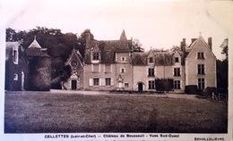 Cellettes - Chateau De Bousseuil  - Vue Sud- Ouest - France