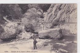 Broc.- Gorges De La Jogne, Animée, Passerelle - FR Fribourg