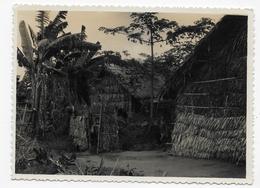 (RECTO / VERSO) PHOTO INDOCHINE EN 1954 - FORMAT 116 X 85 - Plaatsen