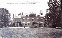 Cellettes - Chateau De Mon Repos - Façade Nord - France