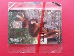 MADAGASCAR 25u Lemurs Lemurien STELMAD SC7 Red CN Afrique Neuve NSB Blister MINT (BA0120.2 - Madagaskar