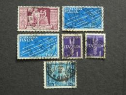 Lotto Posta Aerea - 1900-44 Vittorio Emanuele III