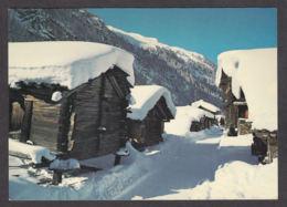 110348/ ANNIVIERS, Zinal, Le Vieux Village - VS Valais