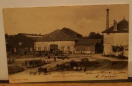Carte Postale Ancienne WASSY -Usine Des Petits Champs- 1903 - Wassy