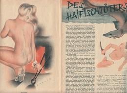 ZEITSCHRIFT Mit Erotischem Inhalt Um 1920, 16 Vorhandene Seiten, Mehrere Fehlende Seiten - Zeitungen & Zeitschriften