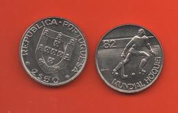 PORTUGAL - 2,5 ESCUDOS HOCKEY - Portugal