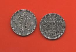 PORTUGAL - 50 REIS 1900 - Portugal