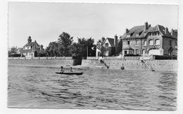 (RECTO / VERSO) MORSALINES EN 1961 - N° 59/230 - VILLAS A MAREE HAUTE - FORMAT CPA VOYAGEE - Frankreich