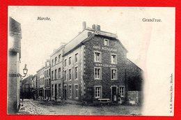 Marche.Grand' Rue. Hôtel Du Midi. Café-restaurant Denis Le Chaplier. Ca 1900 - Marche-en-Famenne