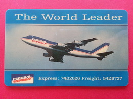SINGAPORE  Federal Express Avion Plane 1SFEA Airplane Neuve NSB Blister MINT (BA0120.2 - Singapour