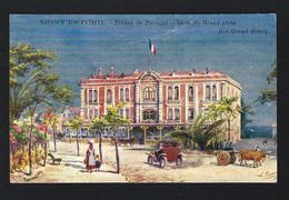 MONT'ESTORIL Monte Estoril Riviere De Portugal - Serie Du GRAND HOTEL. Old Postcard ARTIST SIGNED (Cascais) - Lisboa