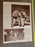 1934 M BOXE BOXEUR GUSTAVE HUMERY MILOU PLADNER LOCATELLI CUBAIN BOY FINNIGAN - Vieux Papiers