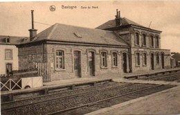 Bastogne  Gare Du Nord Circulé En 1928 - Bastogne