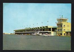 Aeroporto Da Beira / Moçambique - PIPER CHEROKEE Private Plane On MOZAMBIQUE AIRPORT. Vintage Posrtcard AFRICA - Mozambique