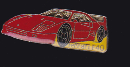 61583- Pin's.automobiles.voitures.car..Ferrari.F40.. - Ferrari