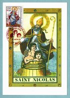 Carte Maximum 1993 - Croix Rouge 1993 : Saint Nicolas - YT 2853 - 57 Metz - 1990-99