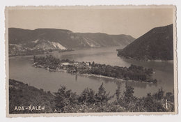 #50100 Vintage 1930s Photo Postcard RPPc Danube Island Ada Kaleh General View - Rumänien