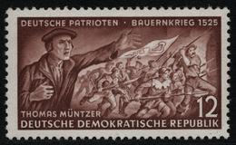 DDR 1953 - Mi-Nr. 398 YI ** - MNH - BPP Geprüft - Ungebraucht