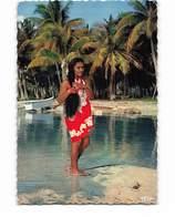Polynesie Française Tahiti Jeune Fille De Touamotu CPSM GF - Tahiti