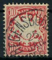 BAYERN Nr 39b Gestempelt X8900C6 - Bavaria