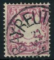 BAYERN Nr 48 Gestempelt X89010E - Bavaria