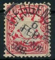 BAYERN Nr 49a Zentrisch Gestempelt X89011E - Bavaria