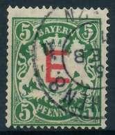 BAYERN DIENSTMARKEN Nr 2 Gestempelt X891CCA - Bavaria