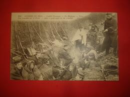 N°0788. WW1. GUERRE DE 1914 CONFLIT EUROPEEN. EN Belgique. YPRES. UNE TRANCHEE SUR LE FRONT. - Guerre 1914-18