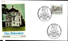 Berlin Poste Obl Yv:544/546 Vues De Berlin (TB Cachet à Date) Fdc Berlin 16-11-78 - Berlin (West)