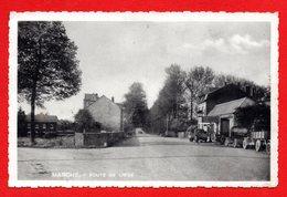 Marche En Famenne. Route De Liège. Garage. 1938 - Marche-en-Famenne
