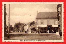 Marche En Famenne. Porte Basse. Café Du Vicinal. Café Du Tram. 1947 - Marche-en-Famenne