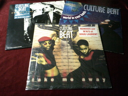 CULTURE  BEAT   °  COLLECTION DE 5 MAXIS 45 TOURS - Complete Collections