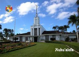 Tonga Nukualofa Mormon Temple New Postcard - Tonga